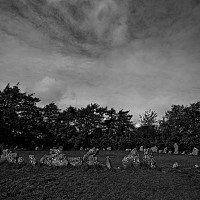 stonecircle - Rollright stones, Oxford date back to the Bronze age. -  print for sale
