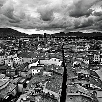 abovelucca2 - Lucca and Tuscany -  print for sale