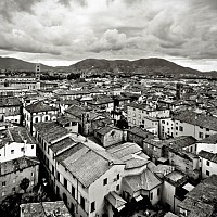 acrosslucca - Lucca and Tuscany -  print for sale