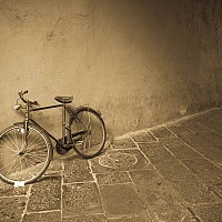 luccabike - Street Scene -  print for sale