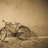 luccbike2 - Lucca -  print for sale