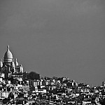 black and white aboveparis photography