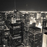 brightlightsofnyc - black and white photography for sale