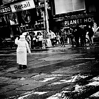 directingtraffic - black and white photography for sale