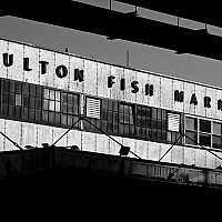 fultonfishmarket - black and white photography for sale