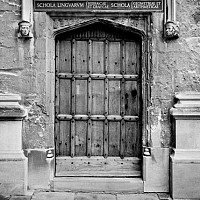 bodleian - black and white photography for sale