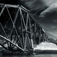 bridge - black and white photography for sale