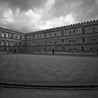 newcollege - black and white photography for sale