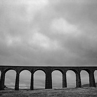 ribblehead - black and white photography for sale
