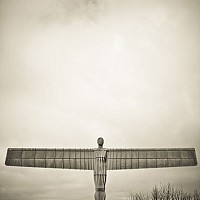 angelnorth - Anthony Gormley's Angel of the North, Gateshead -  print for sale