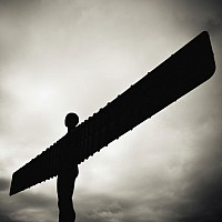 angelofthenorth - Anthony Gormley's Angel of the North, Gateshead -  print for sale