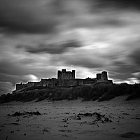 bamburghcastle - Another shot of Bamburgh castle, Northumberland -  print for sale