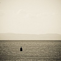 crosby - Anthony Gormley's Another Place, Crosby Beach, Outside Liverpool -  print for sale