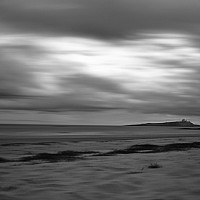 newtonbeach - Newton Beach is located on the East coast of England in Northumberland. This shot shows the view looking South.  -  print for sale