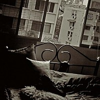 thebedroom - black and white photography for sale
