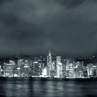 cityofhkbw2 - black and white photography for sale