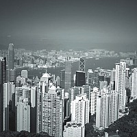highrises - black and white photography for sale
