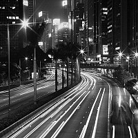 nightinwanchai - black and white photography for sale
