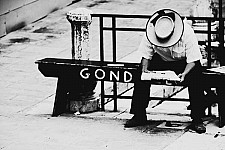 afternoongondolier black and white photography for sale