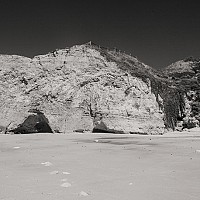 beachandcaves - black and white photography for sale