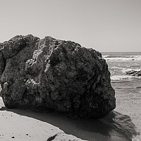 beachedrock - black and white photography for sale