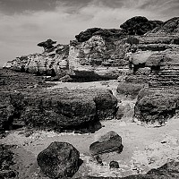 coastline - black and white photography for sale