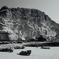 crumblingcliffs - black and white photography for sale