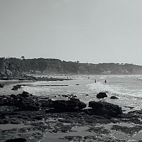 falesiabeach - black and white photography for sale