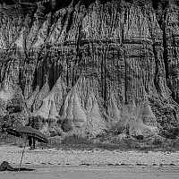 sandstonecliff - black and white photography for sale