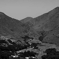 atlashideout - Atlas mountains, outside Marrakesh, Morocco, 2007 -  print for sale