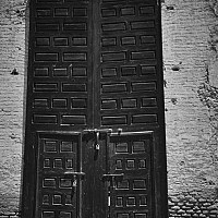 gate - Marrakesh, Morocco, 2007 -  print for sale