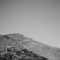 intheatlas - Up in the Atlas Mountains, Outside Marrakesh, Morocco, 2007 -  print for sale