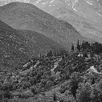 kasbahdutarandot - Atlas Mountains, Marrakesh, Morocco, 2007 -  print for sale