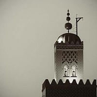 marrakeshmosque -  Marrakesh, Morocco, 2007 -  print for sale