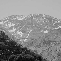 mountainhomes - Atlas Mountains, Outside Marrakesh, Morocco, 2007 -  print for sale