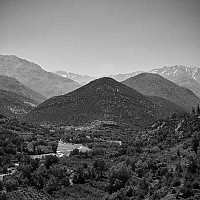 staringattheatlas - Atlas Mountains, Near Marrakesh, Morocco, 2007 -  print for sale