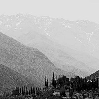 tamadot - Atlas Mountains, Near Marrakesh, Morocco, 2007 -  print for sale