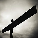 black and white angelofthenorth photography