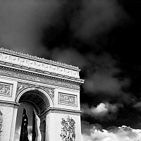 arc - Arc De Triomphe, Paris, 2008 -  photograph for sale