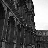 aucoin - The Louvre, Paris, 2008 -  photograph for sale