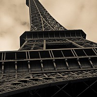 eiffeltower - The Eiffel Tower, Paris, 2008 -  photograph for sale