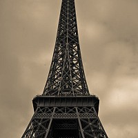 eiffeltower3 - The Eiffel Tower, Paris, 2008 -  photograph for sale
