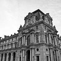 louvrecorner - The Louvre, Paris, 2008 -  photograph for sale