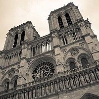 notredame - Notre Dame, Paris, 2008 -  photograph for sale