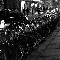 parisatnight - Paris in darkness, 2008 -  photograph for sale