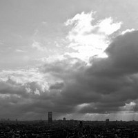 skylineofparis2 - Parisien Skyline, 2008 -  photograph for sale