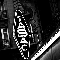 tabac - Nightime in Paris, 2008 -  photograph for sale