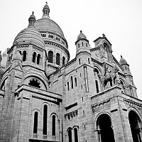 churchofthesacredheart - black and white photography for sale