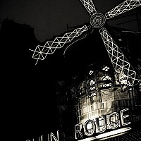 moulinrouge - black and white photography for sale