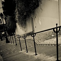 steps - black and white photography for sale